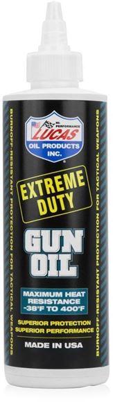 Picture of Lucas Oil - Extreme Duty Gun Oil, Maximun Heat Resistance, 4 fl. oz. / 118ml, Bottle