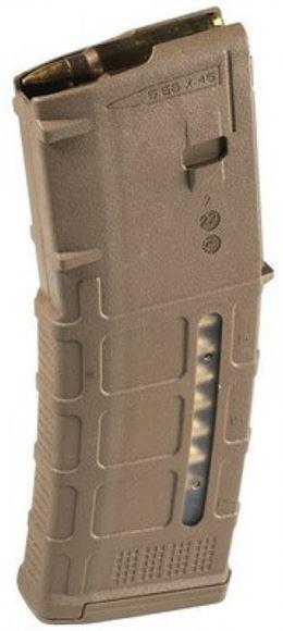 Picture of Magpul PMAG Magazines - PMAG 30 AR/M4 GEN M3 Windowed, 5.56x45mm NATO, 5/30rds, MCT (Medium Coyote Tan)