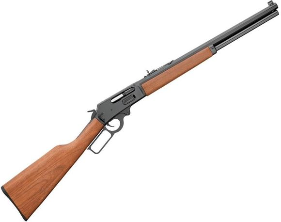 """Picture of Marlin Model 1895CBA Cowboy Lever Action Rifle - 45-70 Govt, 18.5"""", Blued, American Black Walnut Stock w/ Straight Grip, 6rds, Semi-Buckhorn Rear Sight, Carbine Front Sight, Tapered Octagon Barrel"""