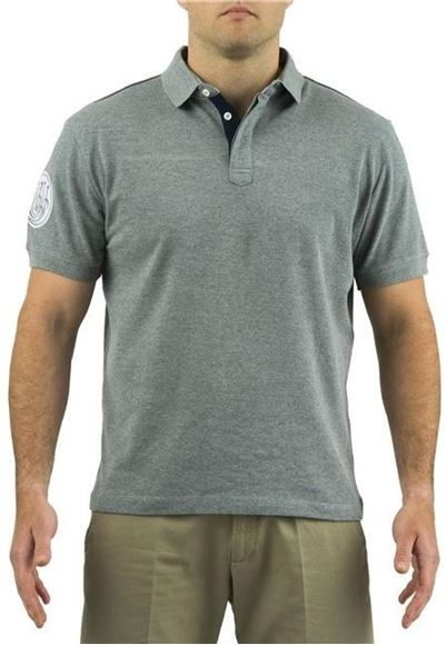 Picture of Beretta Men's Clothing, Polos - Beretta Uniform Pro Freetime Polo, Light Grey Melange, L