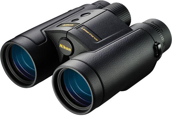 Picture of Nikon Sport Optics Binoculars, Laserforce Binoculars - Laserforce, Rangefinder Binocular with 10-1900 Yard Range, 10x42mm