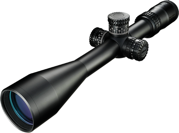 Picture of Nikon Optics, Black FX1000 - 4-16x50SF, 30mm, Illuminated FX-MOA Reticle, 1/4 MOA Adjustment, Side Focus Parallax, First Focal Plane, Matte