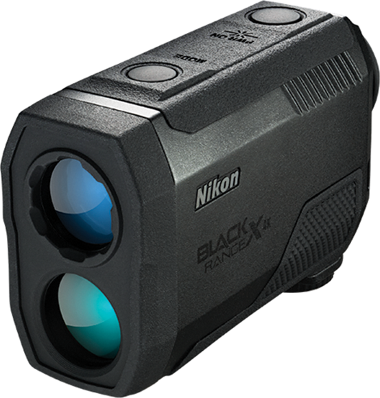 Picture of Nikon Sport Optics Rangefinders - Black RangeX 4K Laser Rangefinder, 6x21mm, With Angle Compensation, 10-4000yds, Waterproof/Fogproof, Black, CR2 Lithium Battery