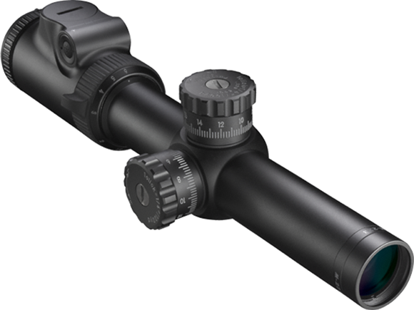 Picture of Nikon Sport Optics Riflescopes, AR Riflescopes - M-223, 1.5-6x24mm, 30mm, Matte, BDC 600 IL (Illuminated), 1/4 MOA Click Adjustment, Spot On Custom Turret, Waterproof/Fogproof