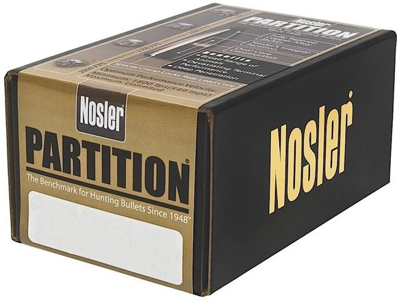 "Picture of Nosler Bullets, Partition - 35Cal(.358""), 250gr, 50ct Box"