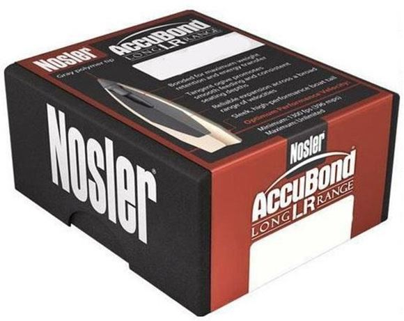 Picture of Nosler Bullets, AccuBond Long Range - 6.5mm, 142gr, Accu Bond, 100ct