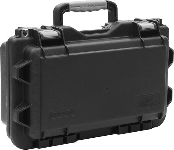 "Picture of Plano Field Locker Hard Gun Cases, Field Locker Mil Spec Series Cases - Pistol Case, Large, Black/Grey, 17.88""x10.88""x6.88"""