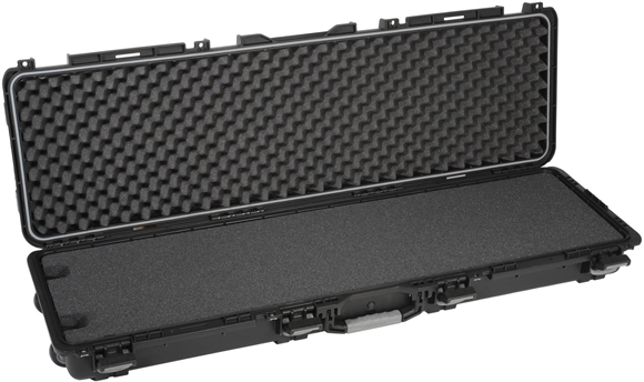 "Picture of Plano Field Locker Hard Gun Cases, Field Locker Mil Spec Series Cases - Double Long Gun Case, Large, Black, 56.38""x18""x7.25"""
