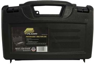 "Picture of Plano Protector Series Hard Single Pistol Case - 11""x7.5""x2.75"", Black"