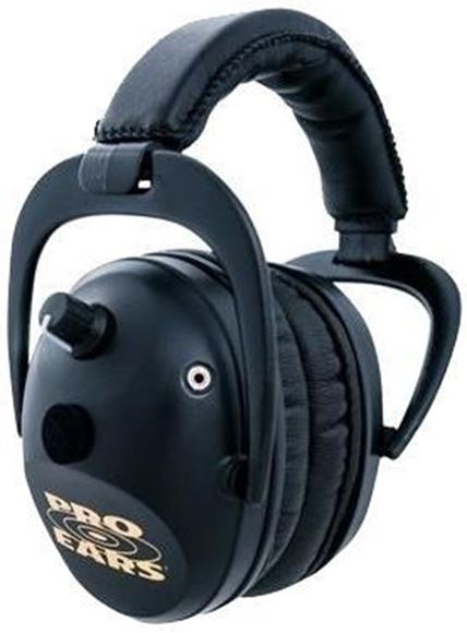 Picture of Pro Ears Pro Series Electronic Ear Muffs - Pro 300, Black, NRR 26