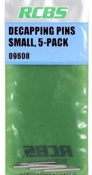 Picture of RCBS Reloading Supplies - Decapping Pin, Small, 5-Pack