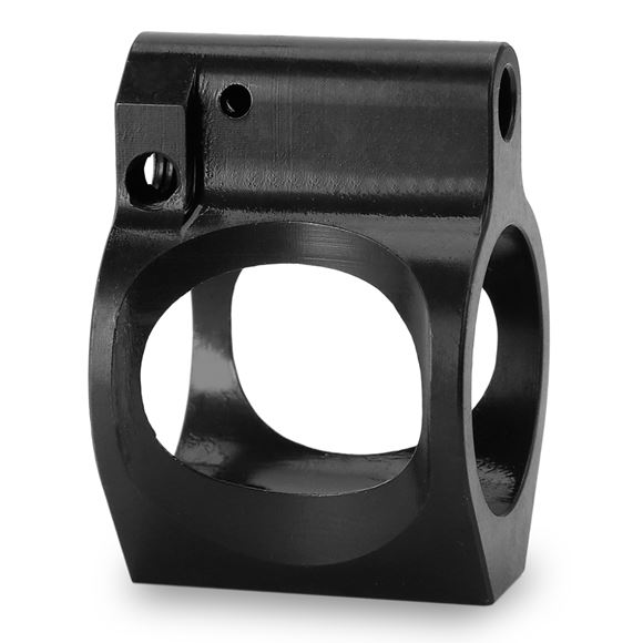 Picture of Titan Spear Manufacturing -  Set Screw Adjustable Gas Block, .750 Low Profile, Black