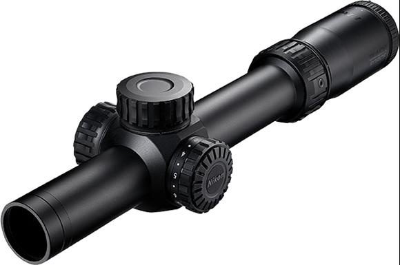 Picture of Nikon Optics, Black Force 100 - 1-6x24, 30mm, FORCE-MOA Reticle, 1/4 MOA Adjustment, Side Focus Parallax, Second Focal Plane, Waterproof/Fogproof
