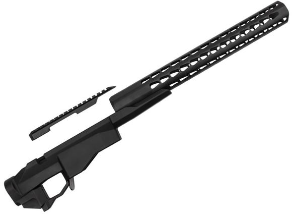 Picture of Remington Firearms Accessories - 700 Chassis System With Square Drop Handguard, Remington 700 Short Action, Right Hand, Black