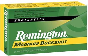 "Picture of Remington Express Magnum Buckshot Shotgun Ammo - 12Ga, 3"", 4 DE, 00 Buck, 15 Pellets, 5rds Box, 1225fps"