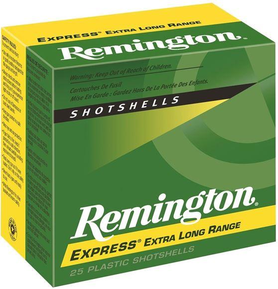"Picture of Remington Upland Loads, Express Extra Long Range Load Shotgun Ammo - 410, 2-1/2"", MAX DE, 1/2oz, #6, 25rds Box, 1250fps"