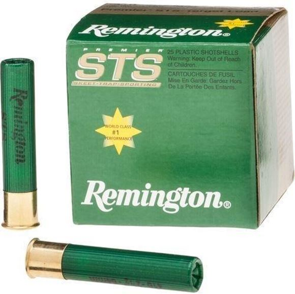 "Picture of Remington Target Loads, Premier STS Target Loads Shotgun Ammo - 410, 2-1/2"", MAX DE, 1/2oz, #9, Extra Hard STS Target Shot, 25rds Box, 1200fps"