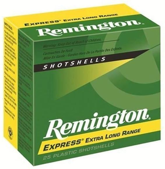 "Picture of Remington Express Extra Long Range Load Shotgun Ammo - 410, 3"", MAX DE, 11/16oz, #7-1/2, 25rds Box, 1135fps"