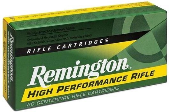 Picture of Remington High Performance Centerfire Rifle Ammo, Full Pressure Load - 45-70 Govt, 300Gr, SJHP, 20rds Box