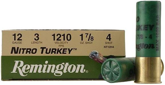 Remington Nitro Turkey Loads Shotgun Ammo - 12Ga, 3