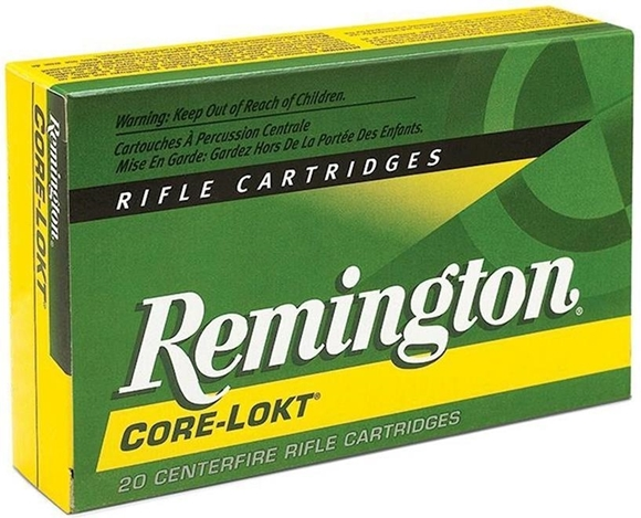 Picture of Remington Core-Lokt Rifle Ammunition - 6.5 Creedmoor, 140gr, Pointed Soft Point, 20rds