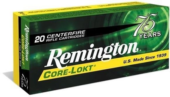 Picture of Remington Express Centerfire Rifle Ammo - 45-70 Govt, 405Gr, SP, 200rds Case