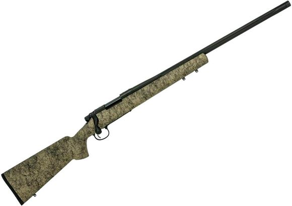 "Picture of Remington Model 700 5-R Gen 2 Milspec Bolt Action Rifle - 308 Win, 24"", Stainless Milspec 5-R Barrel, Black Cerakote, 1:11-1/4"", HS-Precision Composite Stock, 4rds, X-Mark Pro Adjustable Trigger, 5/8x24"