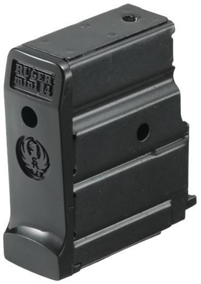 Picture of Ruger Magazines & Loaders, Autoloading Rifles - Mini-14 Magazine, 223 Rem, 5rds