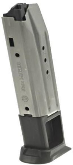 Picture of Ruger Magazines & Loaders, Centerfire Pistols - American Pistol Magazine, 9mm Luger, 10rds, Stainless