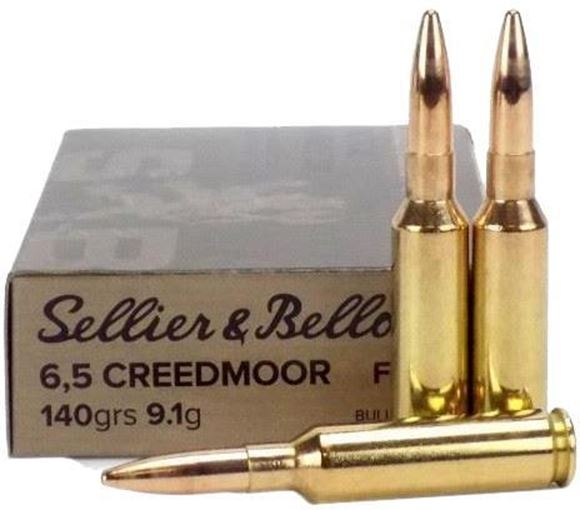 Picture of Sellier & Bellot Rifle Ammo - 6.5 Creedmoor, 140Gr, SP, 20rds Box