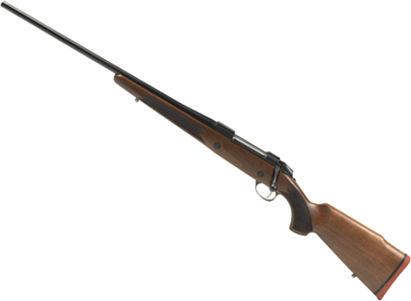 """Picture of Sako 85 Hunter Bolt Action Rifle, Left Hand - 270 Win, 22-7/16"""", Cold Hammer Forged, Light Hunting Contour, Matte Blue, Monte Carlo Style Oil Walnut Stock w/Palm Swell, 5rds, No Sight, 2-4lb Adjustable Trigger"""