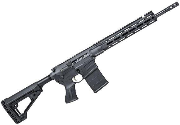 "Picture of Savage Arms MSR10 Hunter Semi Auto Rifle - 6.5 Creedmoor, 18"", 1:8"" 5R Right-hand, Custom Forged Receivers, Free-Float M-LOK Handguard, BLACKHAWK! Trigger, KNOXX AR Pistol Grip & AXIOM Carbine Stock"