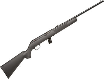 "Picture of Savage Arms Model 64 F Rimfire Semi-Auto Rifle - 22 LR, 20-1/2"", Satin Blued, Black Synthetic, 10rds"
