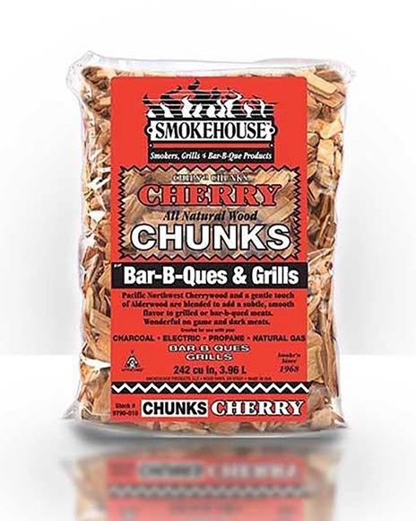 Picture of Smoke House Products, All Natural Wood Chunks - Cherry Chunks, 1.75 lb Bag