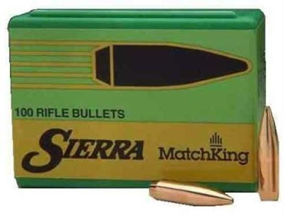 "Picture of Sierra Rifle Bullets, MatchKing - 22 Caliber (.224""), 53Gr, HP, 100ct Box"