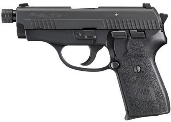 Picture of SIG SAUER P239 Tactical DA/SA Semi-Auto Pistol - 9mm, 106mm Extended Threaded, Nitron, Black Hard Anodized, Black Polymer Factory Grips, 2x8rds, SIGLITE Night Sights, SRT