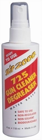 Picture of Slip 2000 Cleaners, 725 Gun Cleaner - 725 Gun Cleaner / Degreaser, 4oz Pump Spray