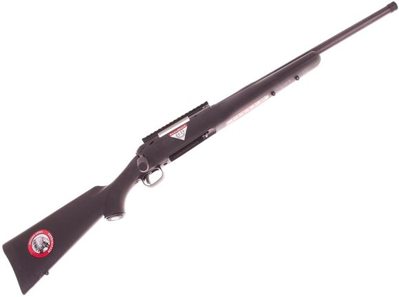 """Picture of Used Savage Model 10 FCP-SR Bolt-Action Rifle - 308 Win, 20"""" Threaded Fluted Barrel, Matte Blued, New In Box/ Salesman Sample"""
