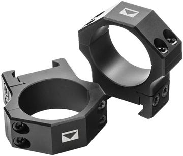 """Picture of Steiner Mounting Systems, H-Series Light Weight Rings - 30mm, Med (1.00"""" Height), Aluminum, Matte"""