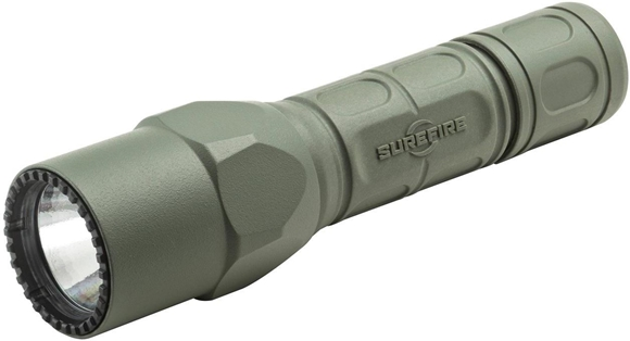 Picture of SureFire G2X Pro Foliage Green LED Flashlight - 600Lumens, 6 Volts, Dual-output tailcap click switch, 2x123A  (included)