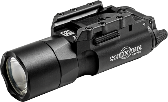 Picture of SureFire Weapon Light - X300 Ultra, 1000 Lumen, 1.25hr Runtime, 2x 123A Battery, Weatherproof to 1m, 4.0 ounces, Black, W/ Rail-Lock Mounting System