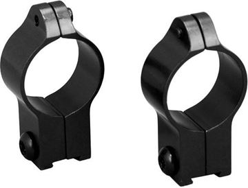 "Picture of Talley Rimfire Speciality Rings - 1"", High, Black, For CZ 452 European, 455, 512, 513 (11mm Dovetail Setup)"