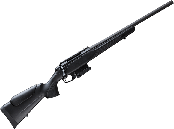 "Picture of Tikka T3X Compact Tactical Rifle (CTR) Bolt Action Rifle - 308 Win, 20"", Matte Black, Semi-Heavy Contour, Threaded, Black Glass-Fiber Reinforced Copolymer Polypropylene Stock w/Varmint Cheek Piece, 10rds, Picatinny-Rail"