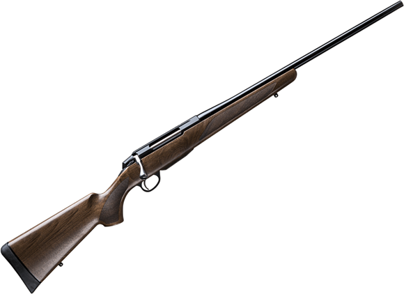 "Picture of Tikka T3X Hunter Bolt Action Rifle - 30-06 Sprg, 22.4"", Blued, Matte Oiled Walnut Stock, Hunting Contour Barrel, 3rds, No Sights"