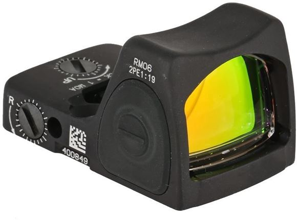 Picture of Trijicon Reflex Sight, RMR 06 Type 2 - 3.25 MOA Dot, 1 CR2032 Lithium Battery, 8 Brightness Settings, Over 4 years of continuous use