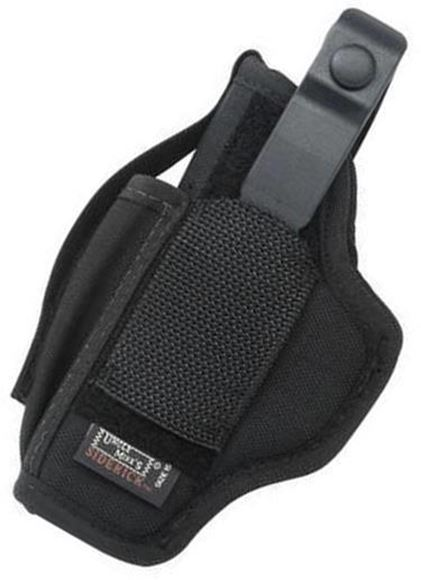 Picture of Uncle Mike's Sidekick Holster - Large Frame Semi Auto, Black Nylon