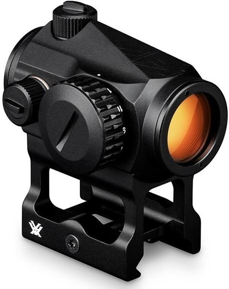 Picture of Vortex Optics, Crossfire Red Dot - 2-MOA dot, Low and Lower 1/3 Co-Witness Mounts, 1 MOA Adjustment, Up to 7,000 hours