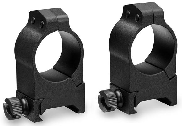 "Picture of Vortex Optics, Riflescope Rings -  Pro Series Scope Rings, Aluminum, 1"", High, Matte Black"