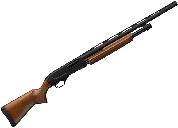 "Picture of Winchester SXP Field Youth Pump Action Shotgun - 20ga, 3"", 22"" Vented Rib, Chrome Plated Bore, Satin Grade I Walnut Stock, 12"" LOP, Invector-Plus (IC,M,F)"