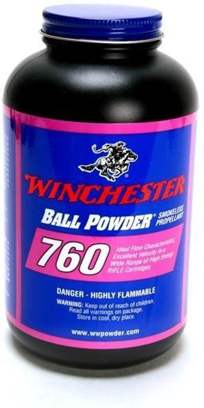 Picture of Winchester Ball Rifle Powders - 760, 1 lb